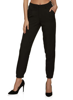 Tapered Dress Pants - 8341056571848