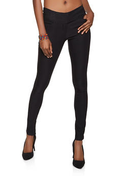 Tabbed Stretch Dress Pants - 8341062707034