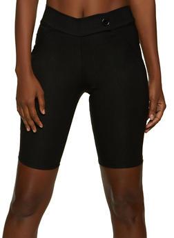 Extended Tab Bermuda Shorts - 8342020626511
