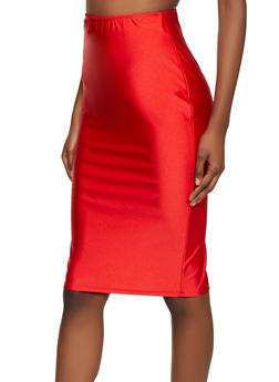 Spandex Pencil Skirt - 8344020629588
