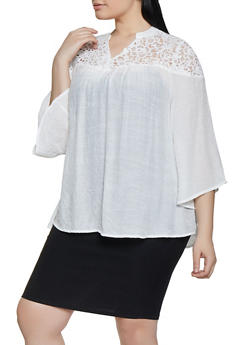 Womens Knit Tops with Collars