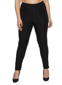 Plus Size Stretch Dress Pants | 8441020620217 - 8441020620217