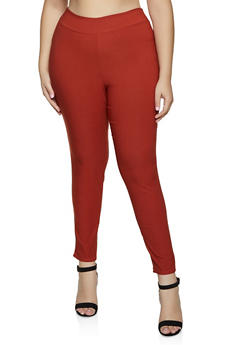Plus Size Stretch Dress Pants | 8441020620217 - 8441020620217
