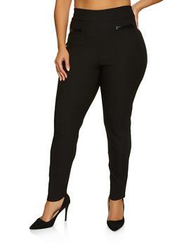 Plus Size Stretch Dress Pants - 8441020626498