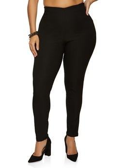 Plus Size Stretch Skinny Pants - 8441020626508