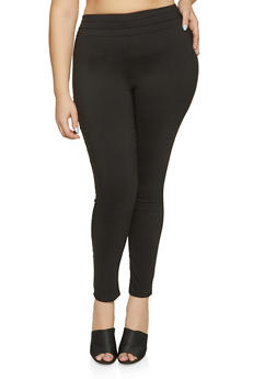 Plus Size Triple Seam Jeggings - 8441020626876