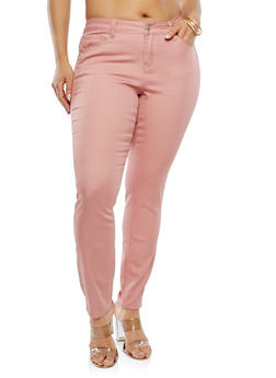 Plus Size Skinny Pants - 8448071613100
