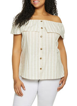 Linen Cotton for Plus Size Women