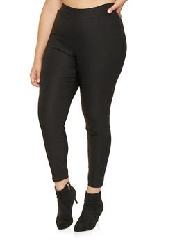 Plus Size Stretch Dress Pants - 9441020621980