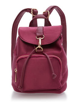 Small Satin Backpack - 9502061595360