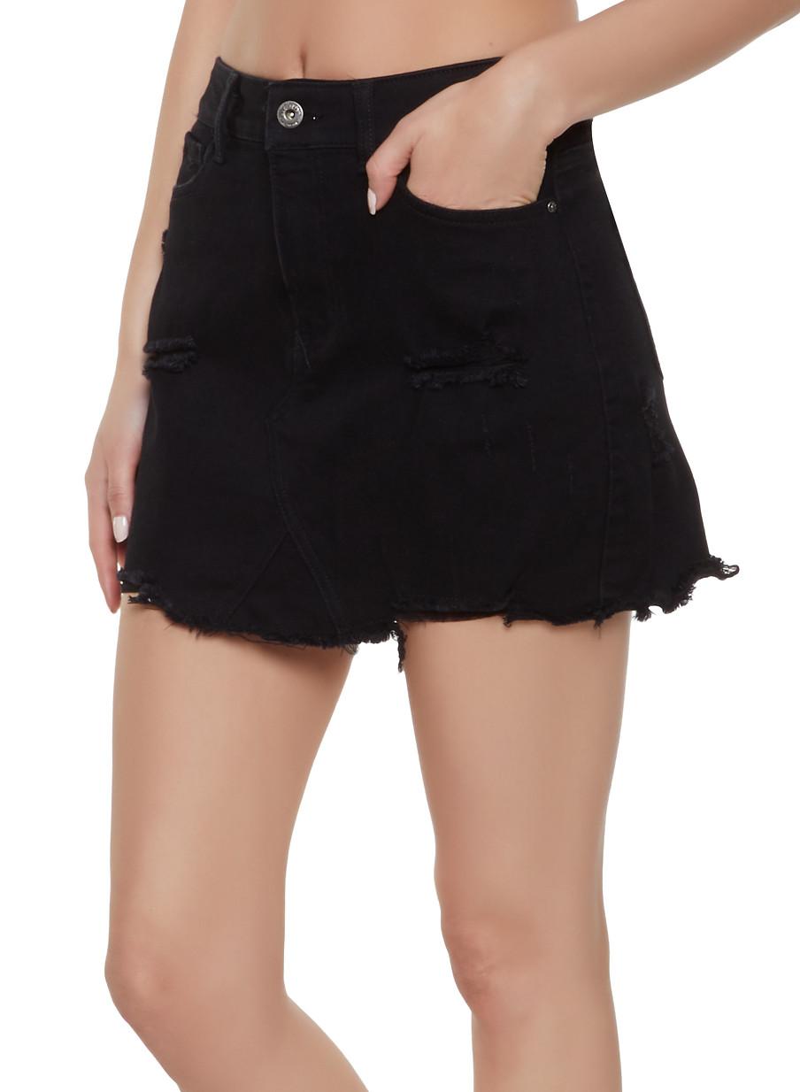 22f901440fcc Midi Length Denim Skirts | Saddha