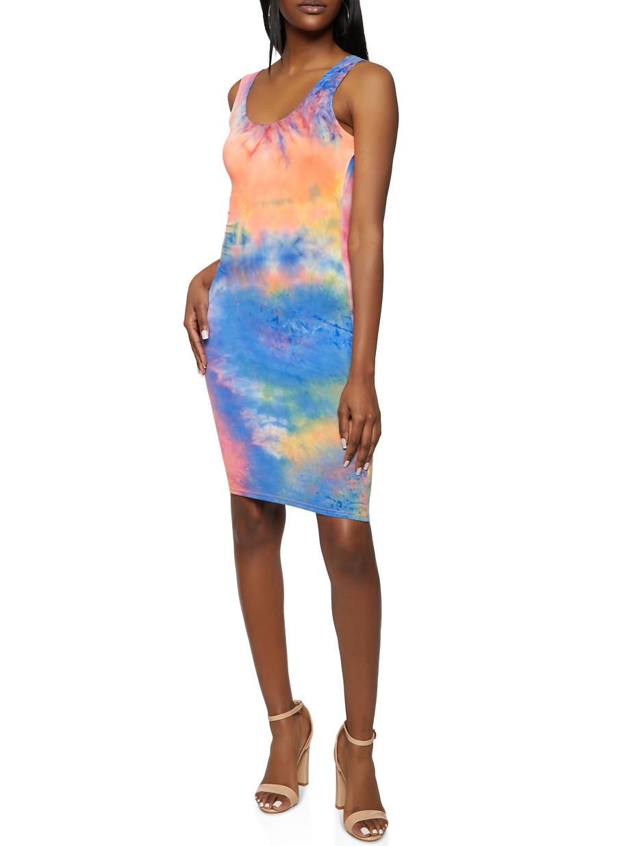 Baby Tie-Dye Fringe Dress  Uneek  UneekTieDye  Tie Dye Dress  Tye Dye Dress  Swimsuit Coverup Sundress