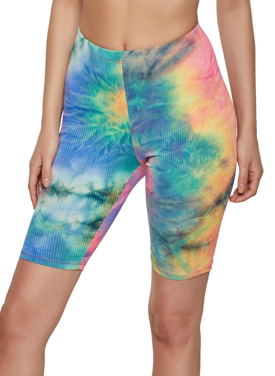 greek gifts  greek sorority biker shorts Lilac Tie Dye Biker Shorts  available for multiple organizations