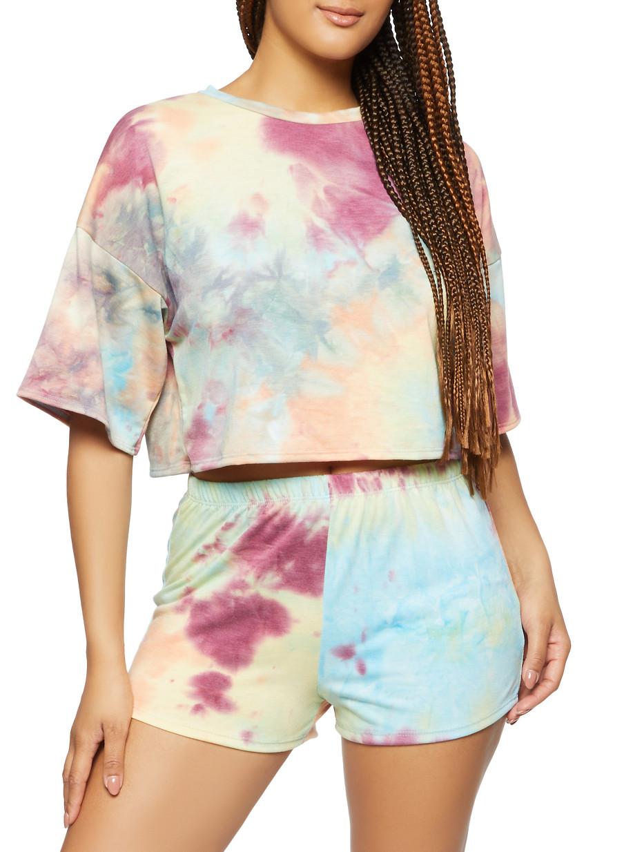 Tie Dye Yoga Top Sale Women\u2019s Crop Top Sizes: S Tie Dye Crop Top M Tie Dye Halter Top Boho Clothing and L Festival