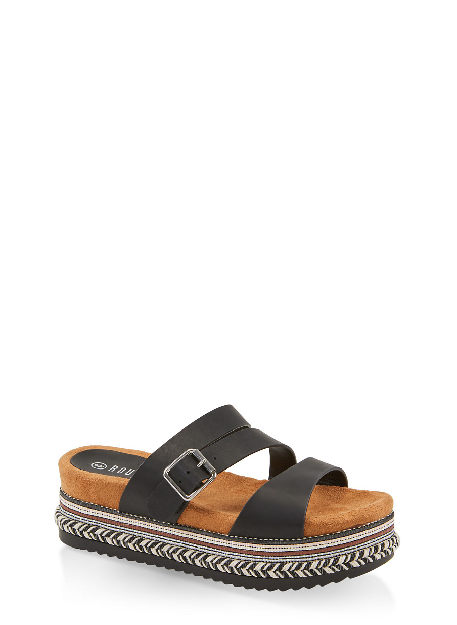 52a6a88daf3 Strappy platform slide sandals rainbow jpg 904x1234 Platform slip on sandals