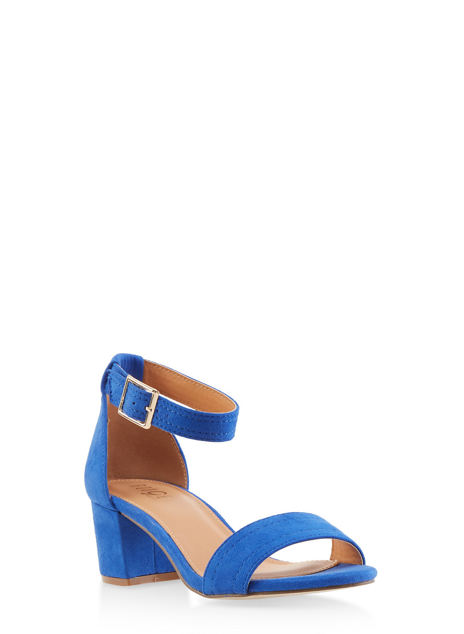 0db13acf88 Ankle Strap Block Heel Sandals - Rainbow