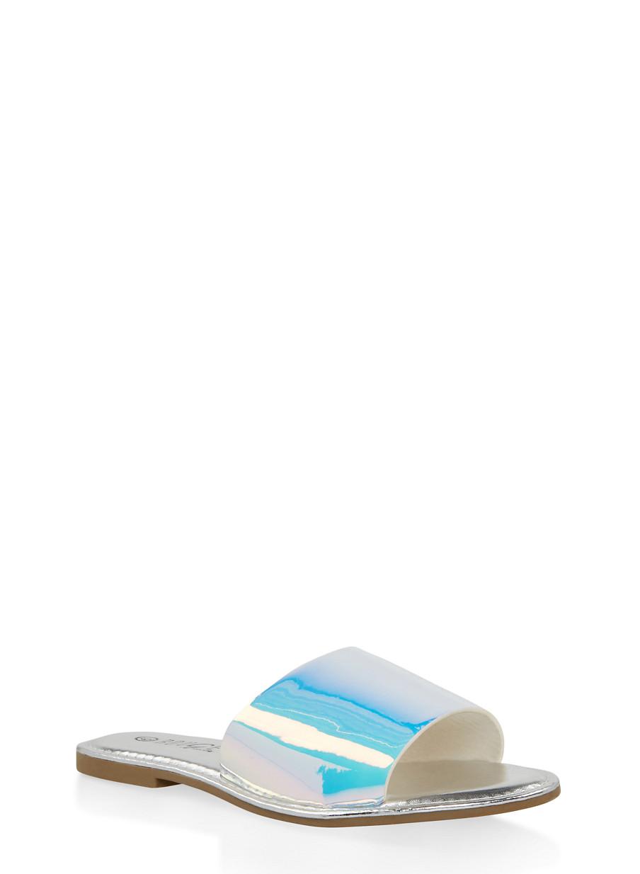 6fa377e8792 Wide Band Slide Sandals