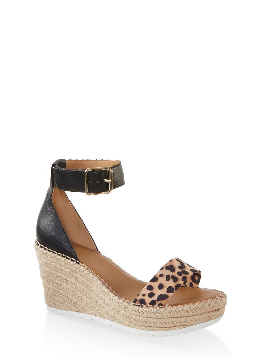 espadrille wedge sandals open toe