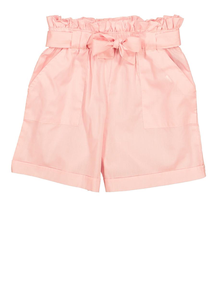 AP.Room 1-24 Months Baby Short Sleeve Creeper Jumpsuit Gurren Lagann Generous Eye-Catching Style Pink