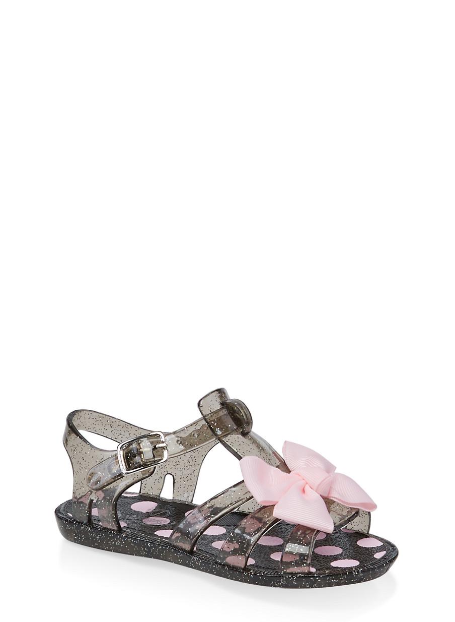 c919ec176 Girls 7-10 Bow Jelly Sandals