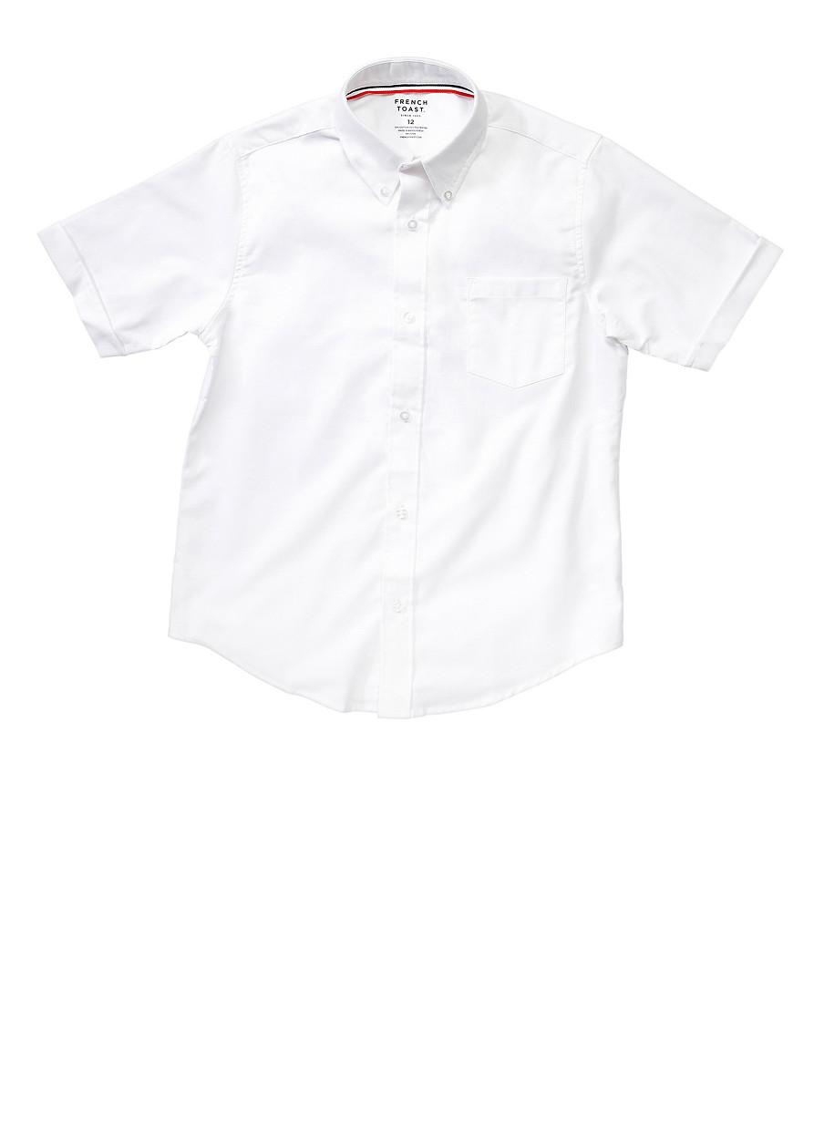 a7d40ac8a01 Boys 8-14 Short Sleeve Oxford Shirt School Uniform - Rainbow