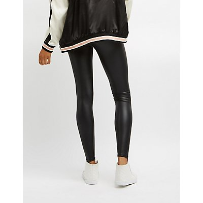 High-Waisted Liquid Leggings