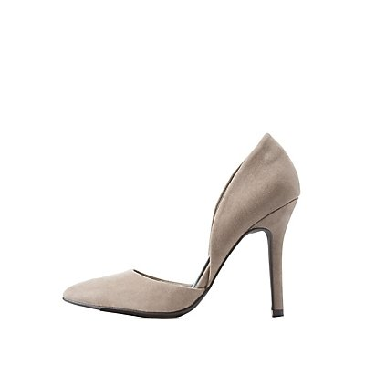 Two-Piece Pointed Toe Pumps