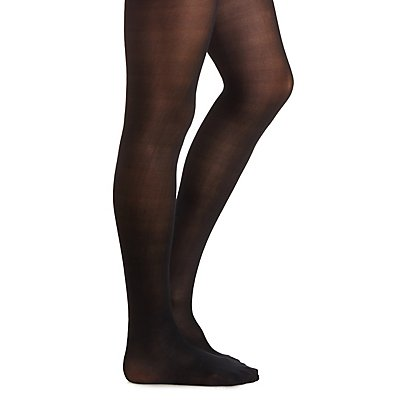 Basic 40 Denier Black Tights