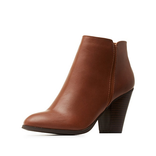 Charlotte Russe Womens Booties
