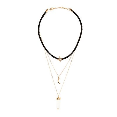 Choker Layering Necklaces - 3 Pack