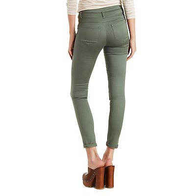 Refuge Hi-Waist Skinny Colored Jeans