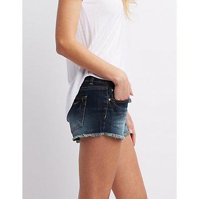 Refuge Shortie Cut-Off Shorts