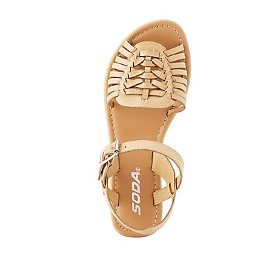 Two-Piece Huarache Sandals