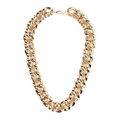 Chunky Mixed Chain Necklace