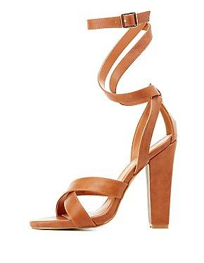 Ankle Wrap Dress Sandals
