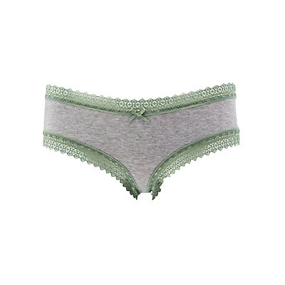 Lace-Trim Cheeky Panties