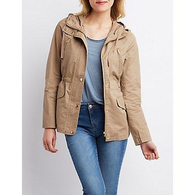 Cargo Pocket Anorak Jacket