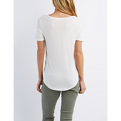 Boyfriend Pocket Tee