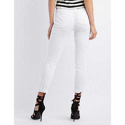 Refuge Hi-Rise Skinny High-Waisted Jeans