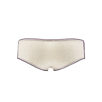 Lace Panel Hipster Panties