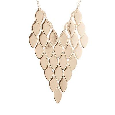 Leaves Bib Necklace