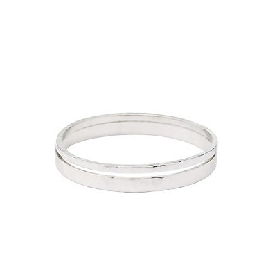Textured Bangle Bracelets - 2 Pack