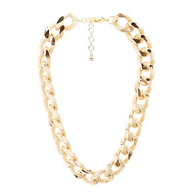 Textured Chunky Chain Necklace