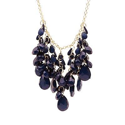 Teardrop-Shaped Bead Necklace