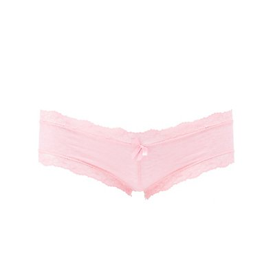 Lace-Trim Boyshort Panties
