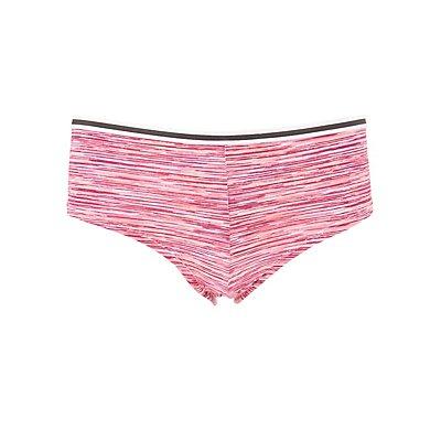 Striped Waistband Boyshort Panties