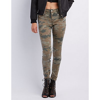 "Refuge ""Skin Tight Legging"" Camo Jeans"