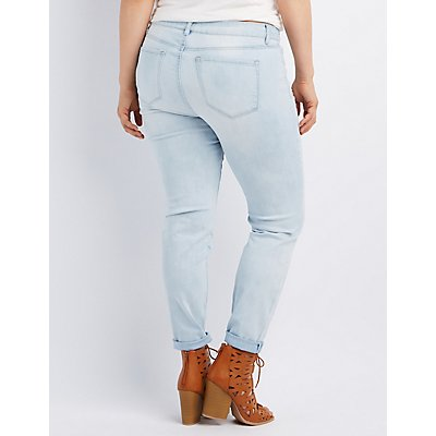 Plus Size Refuge Skin Tight LeggingJeans
