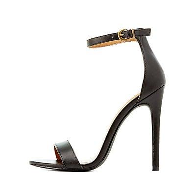Classic Ankle Strap Dress Sandals