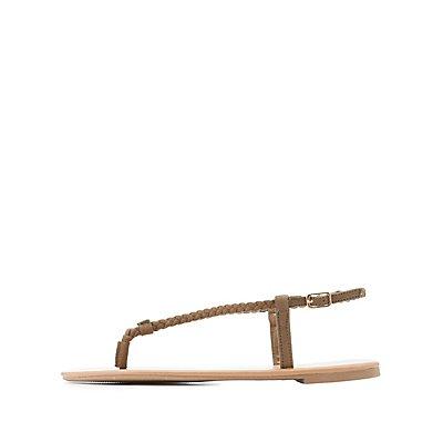 Braided Thong Sandals
